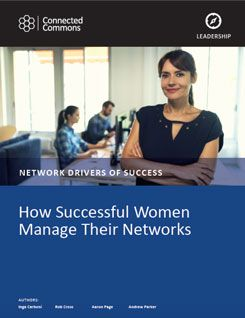 How Successful Women Manage Their Networks