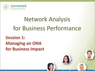 Organizational Network Analysis for Business Success Virtual Course