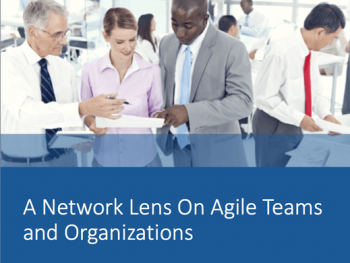 A Network Lens On Agile Teams and Organization