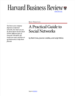 A Practical Guide to Social Networks
