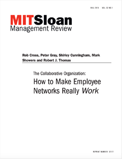 How to Make Employee Networks Really Work