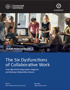 Six Dysfunctions of Collaborative Work