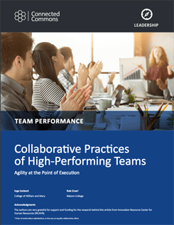 Collaborative Practices of High-Performing Teams
